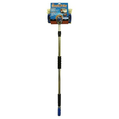 AutoSpa Wash Brush with 71  Extension Pole