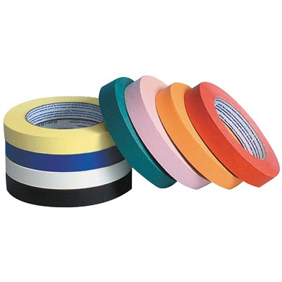 Creativity Street Masking Tape Set, 1 Inch x 60 Yards, Assorted Colors, set of 8
