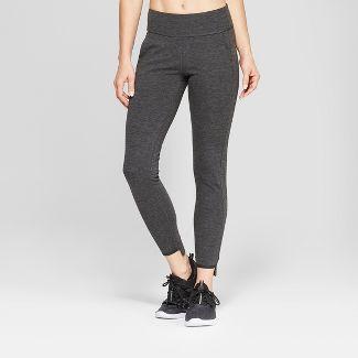 "Women's Ponte Mid-Rise Leggings 28.5"" - C9 Champion® Dark Gray M"