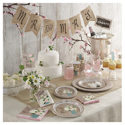Rustic Wedding Party Supply Collection