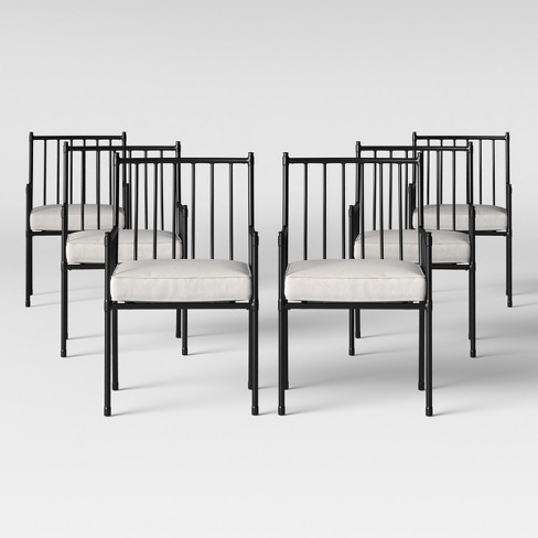 Fernhill Patio Dining Chair White - Threshold™ - image 1 of 4