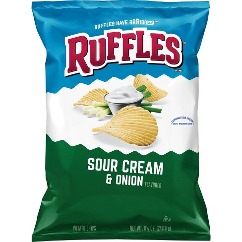 Ruffles Sour Cream And Onion Chips - 8.5oz - image 1 of 2