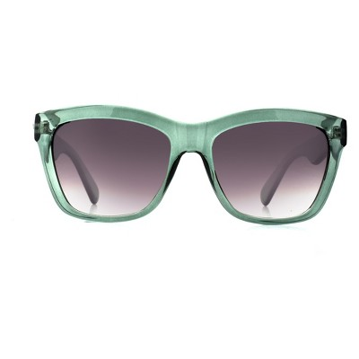 Women's Square Sunglasses - A New Day™ Light Mint