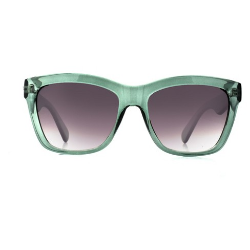 Women's Square Sunglasses - A New Day™ Light Mint - image 1 of 1