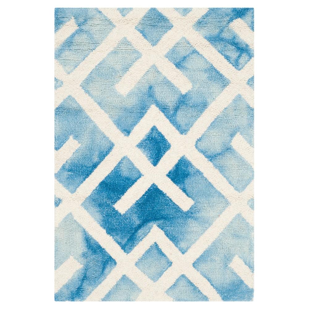 Denzell Accent Rug - Blue/Ivory (2'x3') - Safavieh