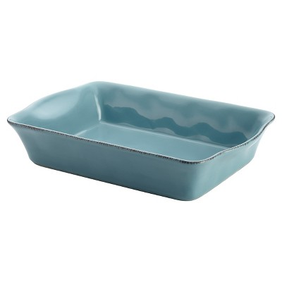 Rachael Ray Cucina Rectangular Baker - Blue (9  x 13 )