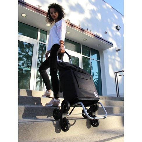dbest Stair Climber Trolley Dolly - Black