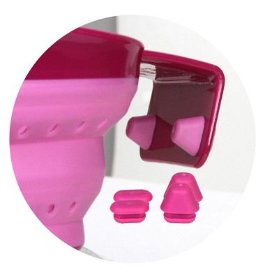 Squish Over The Sink Arm Collapsible Colander Cranberry