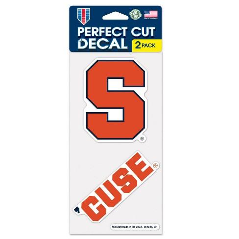 NCAA Syracuse Orange 2pk Multi Use Decals - image 1 of 3