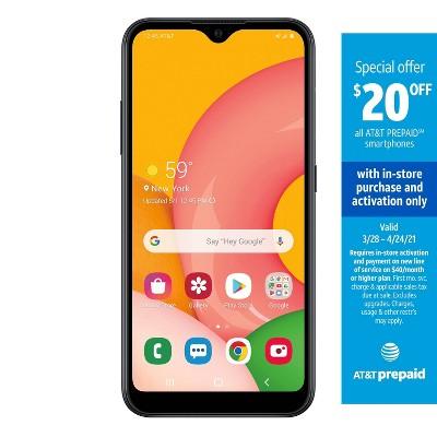 AT&T Prepaid Samsung A01 (16GB) - Black