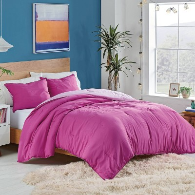 Utica® Solid Reversible Comforter Set