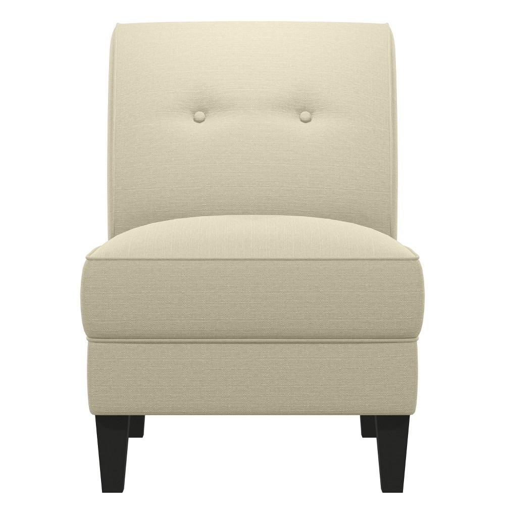 George Armless Chair Oatmeal - Handy Living Top