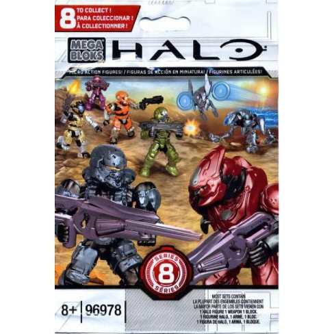 Mega Bloks Halo Series 8 Minifigure Mystery Pack #96978-8 - image 1 of 3