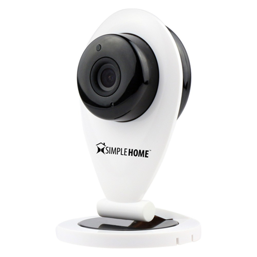 SimpleHome Smart Wi-Fi Security Camera fixed with Motion Detection - White (XCS71001WH )