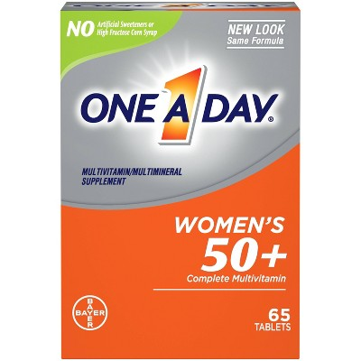 Multivitamins: One A Day Women's 50+ Healthy Advantage