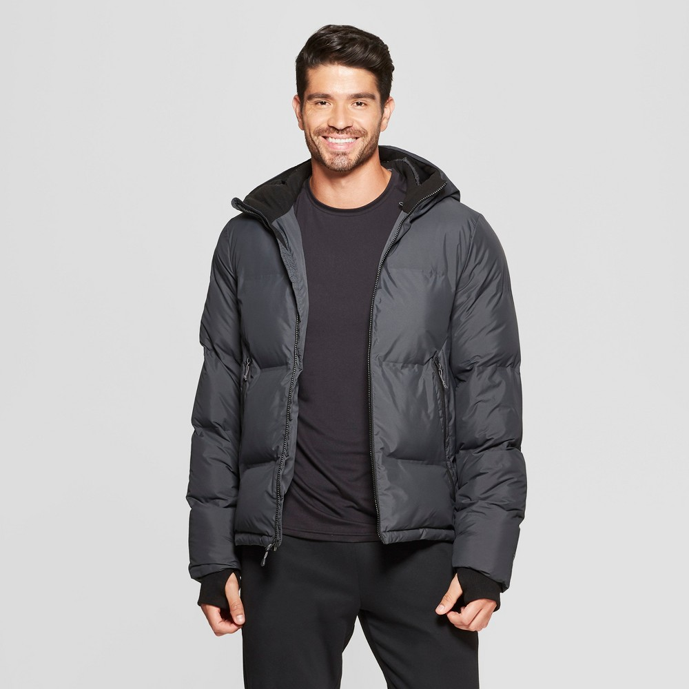 Men's Puffer Jacket - C9 Champion Charcoal Gray S
