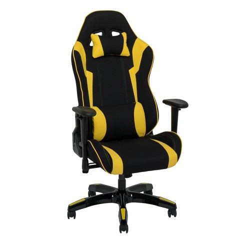 Gaming Chairs CorLiving Yellow - image 1 of 10