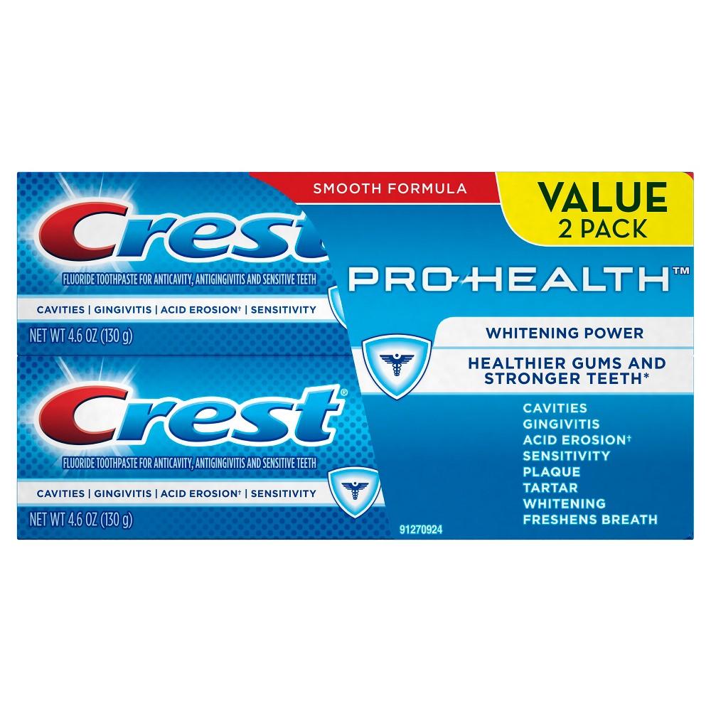 Crest Pro-Health Extra Whitening Power Toothpaste 2pk - 10.2oz