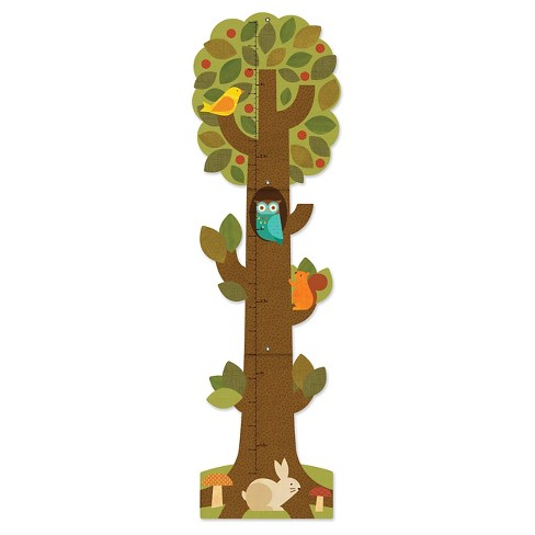 Petit Collage Tree Friends Folding Growth Chart - image 1 of 1