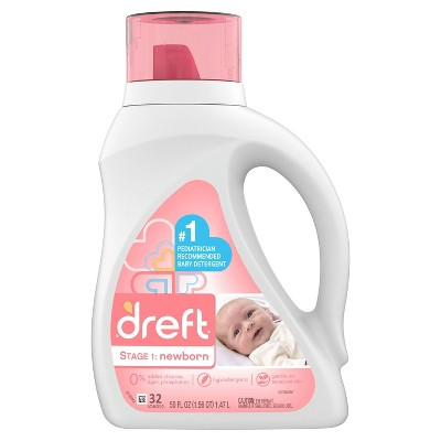 Dreft Stage 1: Newborn Liquid Laundry Detergent - 50 fl oz
