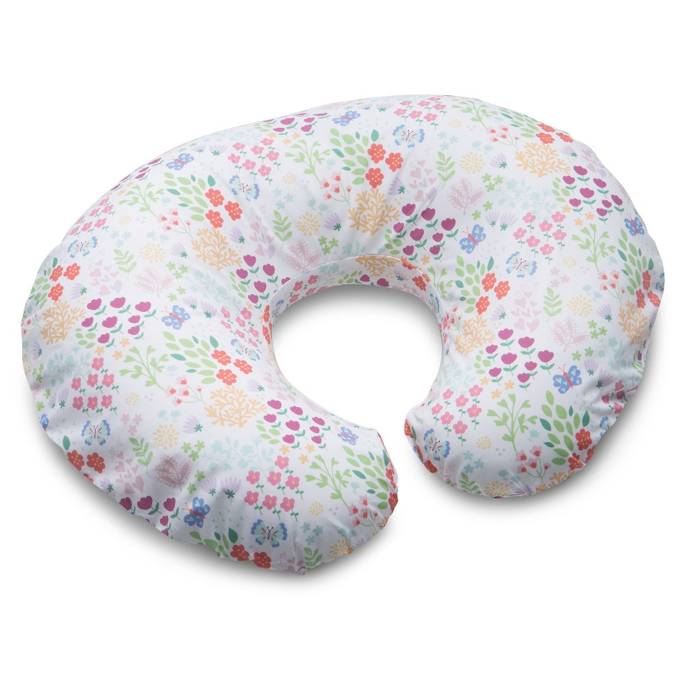 Image of Boppy Garden Party Nursing Pillow and Positioner, Pink