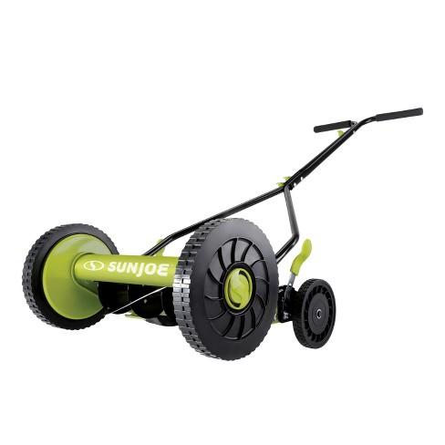 Sun Joe MJ503M Manual Reel Mower | 14-Inch | Quad Wheel | 9-Position. - image 1 of 4
