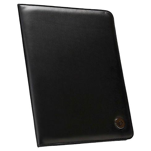 Case It 10.5x8.5 Black Faux Leather Padfolio - image 1 of 4