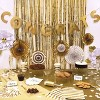 Party Backdrop Gold - Spritz™ - image 2 of 2