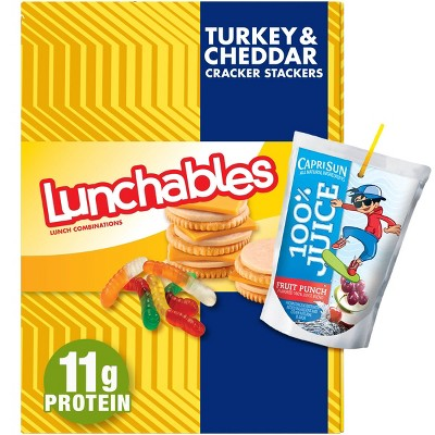 Oscar Mayer Lunchables Turkey & Low Fat Cheddar Cheese Meal Combinations - 8.9oz