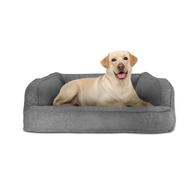Canine Creations Sofa Rectangle Dog Bed - Gray