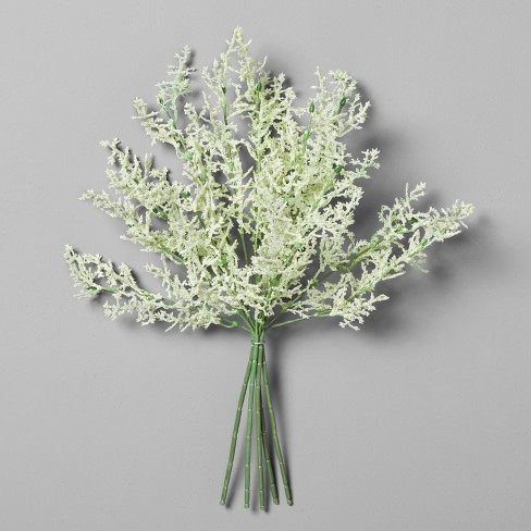 """Astilbe Flower Bundle White (16"""") - Hearth & Hand™ with Magnolia - image 1 of 4"""