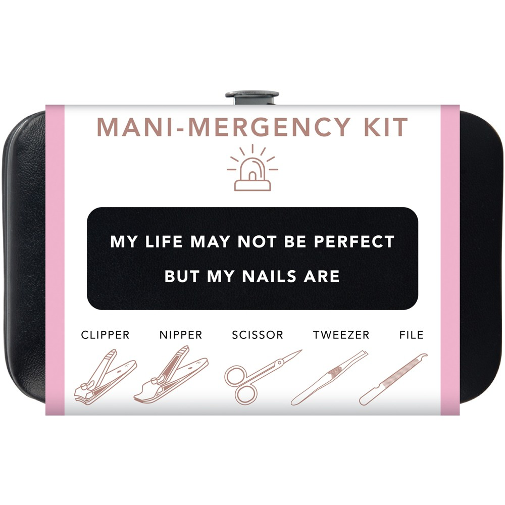 Trim Nail Mani Emergency Grooming Kit - Black