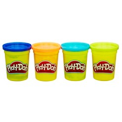 Play-Doh 4pk of Bright Colors