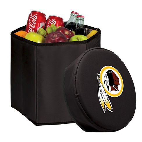 9b1bb0710 Washington Redskins - Bongo Cooler By Picnic Time (Black)   Target