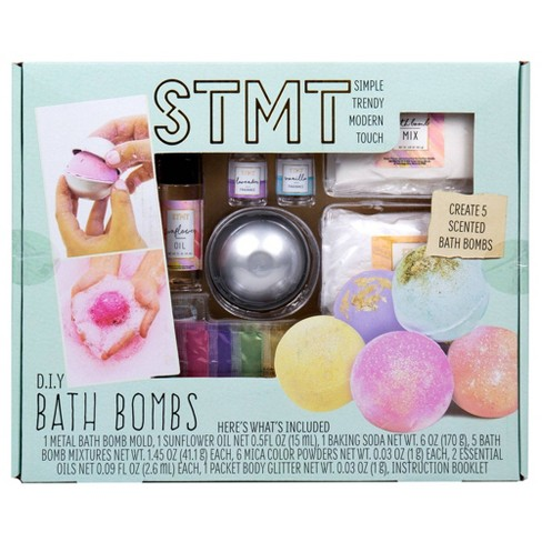 DIY Bath Bombs - STMT - image 1 of 4