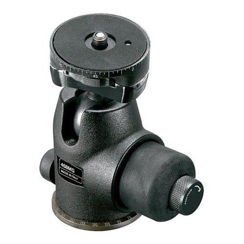 Manfrotto 468MG Hydrostatic Ball Head, with Fixed Plate, Supports 35.3 lbs - image 1 of 1
