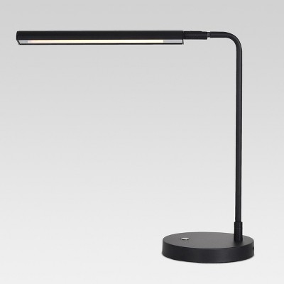 Lemke Desk Lamp (Includes LED Light Bulb) Black - Project 62™
