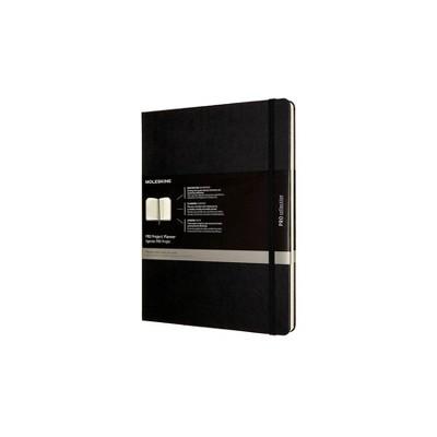 "Undated Pro Project Planner 10"" x 7.5"" Weekly XL Black - Moleskine"