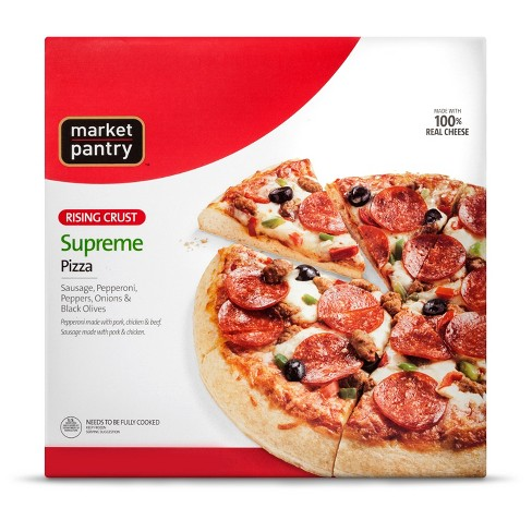 Supreme Rising Crust Pizza 32.7 oz - Market Pantry™ - image 1 of 1