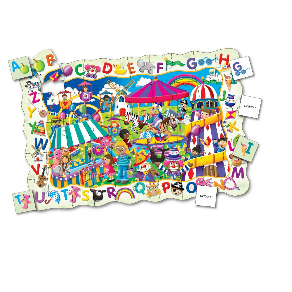 The Learning Journey Puzzle Doubles, 50pc - Find It! Abc
