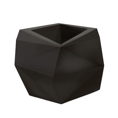 26'' Contour Origami Tall Planter -  Crescent Garden