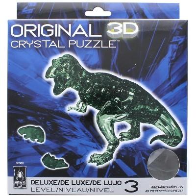 University Games T-Rex 49 Piece 3D Crystal Jigsaw Puzzle