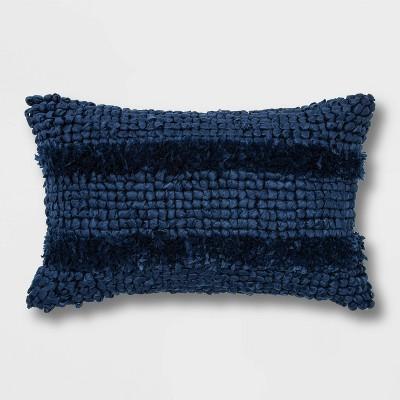 Textured Lumbar Throw Pillow - Opalhouse™
