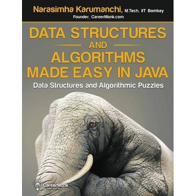 Data Structures and Algorithms Made Easy in Java - 2nd Edition by  Narasimha Karumanchi (Paperback)