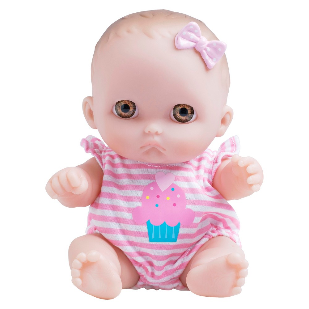 "JC Toys Lil' Cutesies 8.5"" Baby Doll"