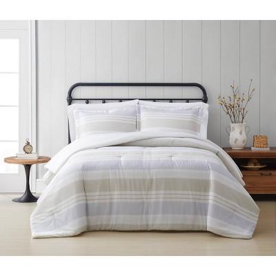 Cottage Classics Spa Stripe Comforter Set