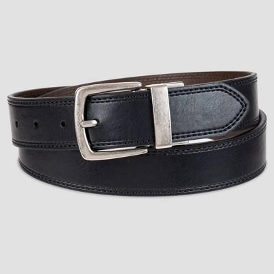 Men's 35mm Reversible Belt - Goodfellow & Co™ Black/Brown