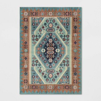 Buttercup Diamond Vintage Persian Woven Rug - Opalhouse™
