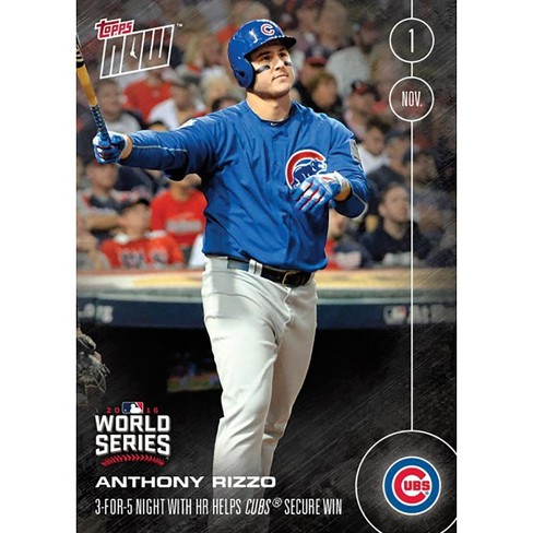 Topps MLB Chicago Cubs Anthony Rizzo #652A 2016 Topps NOW Trading Card - image 1 of 2
