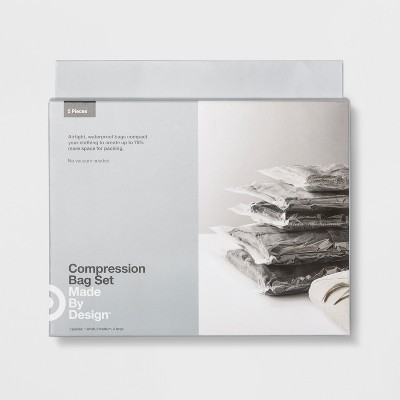 Deluxe Compression Bags 5pk - Made By Design™